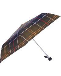 Barbour Womens Portree Umbrella Classic Tartan - Multicolor