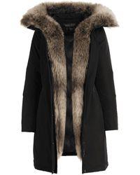 Woolrich Schwarzer WWCPS2815-UT0573-100 Luxus Boulder Coat