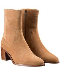 A.P.C. Https://www.trouva.com/it/products/apc-caramel-georgia-leather-boots - Marrone