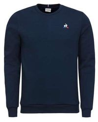 Le Coq Sportif Essentials Crew Sweat Dress Blues - Blau