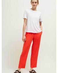 Great Plains - Optic White Alma Jersey T Shirt - Lyst