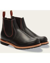 Red Wing Bottes 2918 Chelsea Rancher noires