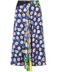 Stine Goya Https://www.trouva.com/it/products/stine-goya-flowermarket-mix-lilah-skirt - Blu