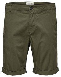 SELECTED Paris Shorts - Green