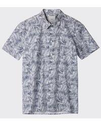 Minimum - Mingus Kurzarmhemd Navy Blazer - Lyst