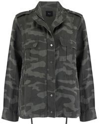 Rails Trey Jacket Charcoal Camo - Grey