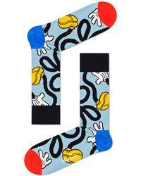 Happy Socks Calcetines elásticos Mickey Disney - Azul