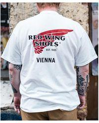 Red Wing Camiseta Vienna Special Blanco Hombre - Multicolor