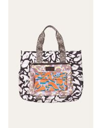 Stine Goya Liliana Bag Abstract Leaf - Multicolour