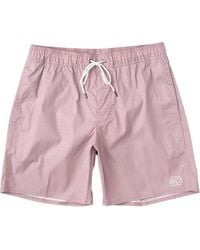 RVCA Gegensätze elastisch kurze blasse mauve - Pink