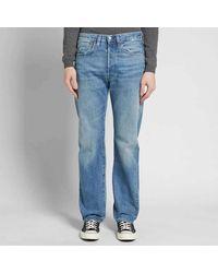 Levi's Moon Rock Vintage Kleidung L32 1947 501 Jeans - Blau
