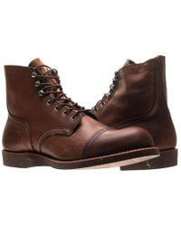 Red Wing Amber Iron Ranger 8111 Shoes - Brown
