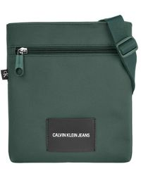 Calvin Klein Micro Flatpack Vert Canard