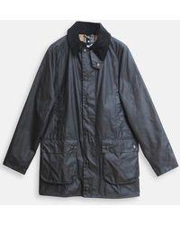 Barbour Slim Beaufort Jacket In Sage - Multicolour