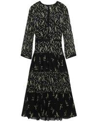 Ba&sh Morris Midi Dress Black