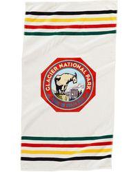 Pendleton Telo mare stampato ghiacciaio - Multicolore