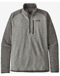 Patagonia Better Sweater 1/4 Zip - Grigio