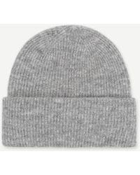 Samsøe & Samsøe Nor Hat Grey Melange