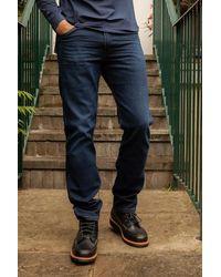 Wrangler Mens 11 Mwz Good Night Western Jeans - Blue