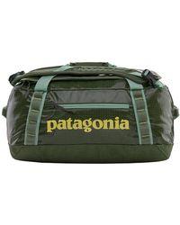 Patagonia Bolsa de deporte Black Hole 40 L Camp Green - Verde
