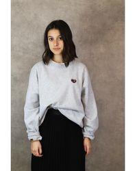Maison Labiche Sweatshirt Patch - Grau