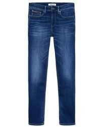 Tommy Hilfiger Https://www.trouva.com/it/products/tommy-hilfiger-scanton-slim-jeans-aspen-dark-blue-stretch