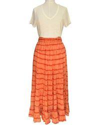 Second Female Falda Santiago Dusty Coral - Naranja