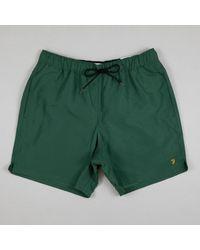 Farah Colbert Swim Short à Cèdre Green - Vert