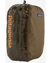 Patagonia Large Coriander Brown Black Hole Cube Bag - Multicolor