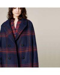 Sessun Eureka Street Bloored Womens Jacket - Blue