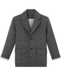 A.P.C. Https://www.trouva.com/it/products/apc-grey-etretat-jacket - Grigio