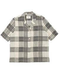 Folk Soft Collar Shirt Alber Check - Multicolour