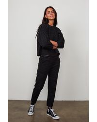 Velvet By Graham & Spencer Sang Trousers - Black