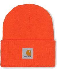 Carhartt Sombrero de reloj acrílico Safety Orange - Naranja
