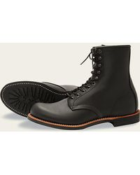 Red Wing 2944 Harvester Black Boots