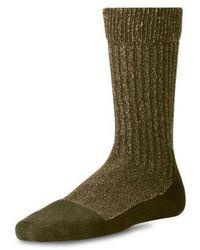 Red Wing Deep Toe Capped Wool Mens Socks - Green