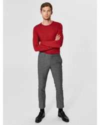 SELECTED Rio Red Tower Merino Wool Sweater
