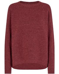 Minimum Cordovan Kita Sweater 0136a - Red