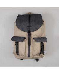 Herschel Supply Co. Herschel Dawson Backpack In Timberwolf Black Denim - Multicolor