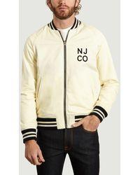 Nudie Jeans Mark Reversible Jacket - Neutro