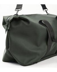 Rains Green Weekend Bag