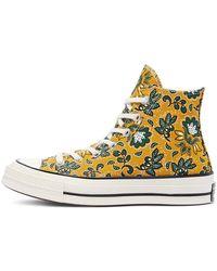 Converse Zapatillas altas Chuck 70 con estampado Gold Dart and Fire Culture Prints - Metálico