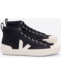 Veja Zapatos Pierre Nova Ht Canvas negros