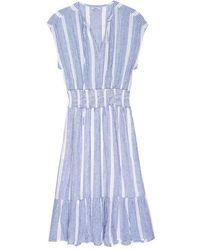Rails Vestido Ashlyn Levanzo Stripe - Azul