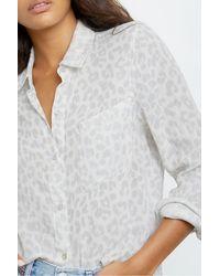 Rails Ellis Shirt In Grau Jaguar