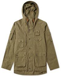 Barbour Chaqueta Thompson de algodón verde oliva MCA0597GN31 X Engineered Garments