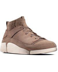 Clarks - Sandstrick Trigenic Evo Sneakers - Lyst