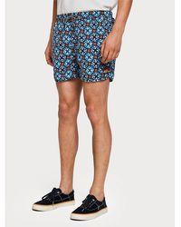 Scotch & Soda Shorts de baño de nylon - Azul