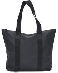 Rains Tote Bag Rush In Black
