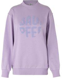 Baum und Pferdgarten Jimi Sweatshirt Lavendula Sustainable - Purple